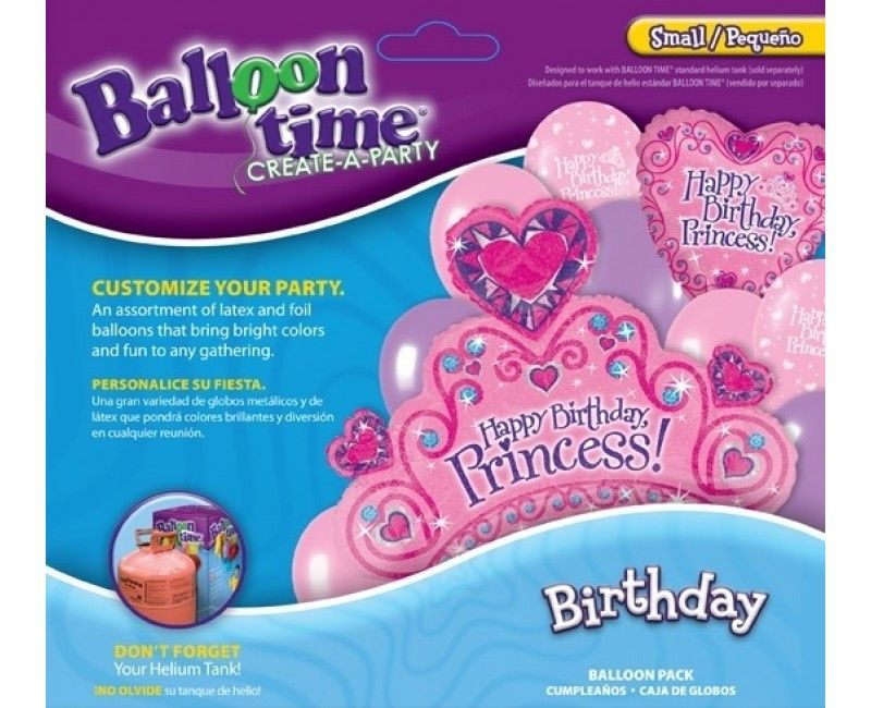 Ballontros Birthday princess