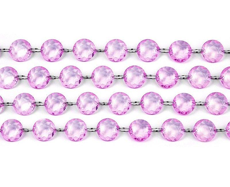 Crystal garland lilac