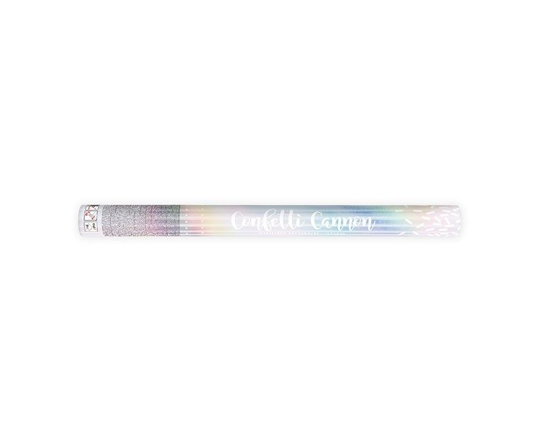 Confetticanon 60cm iridescent