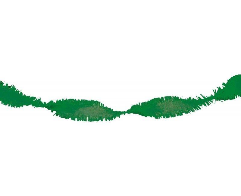 Draai guirlande donkergroen