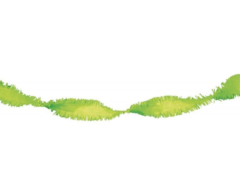 Draai guirlande lime green