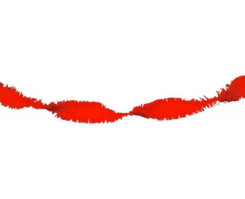 Draai guirlande rood