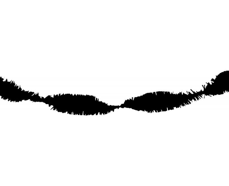 Draai guirlande zwart