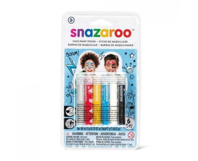 Snazaroo schmink sticks Adventure, 6 stuks