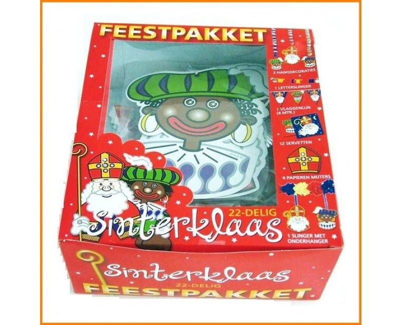 Sinterklaas pakket 22-delig