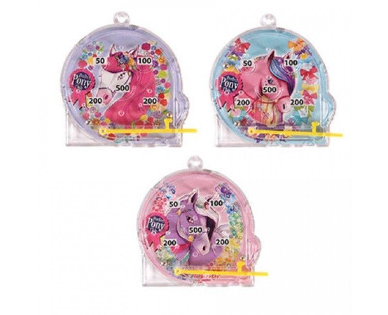 Pinata speelgoed flipperspel Pony assorti per stuk