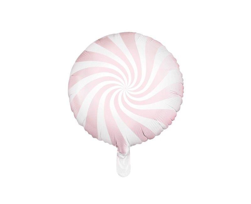 Folieballon 45cm Candy lichtroze