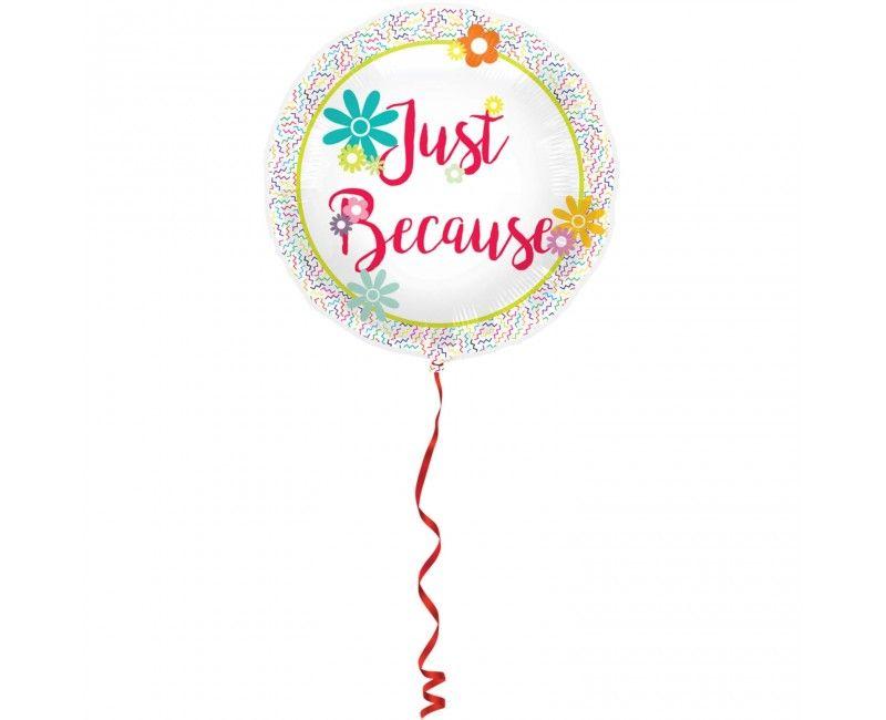 Folieballon 45cm Just Because