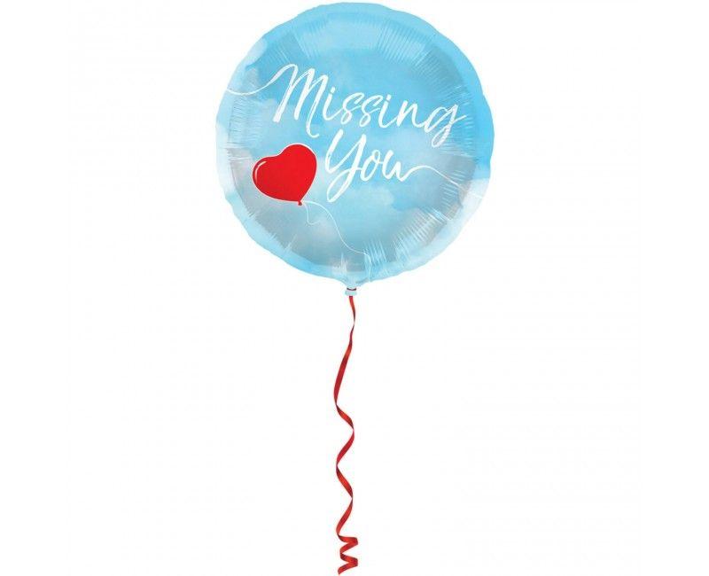 Folieballon 45cm Missing You
