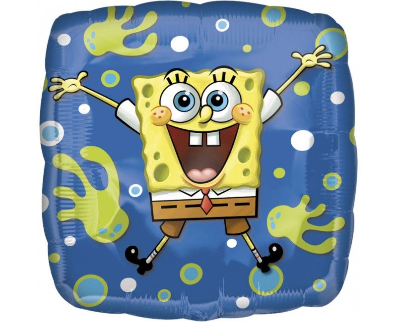 Folieballon 45cm Songe Bob Squarepants