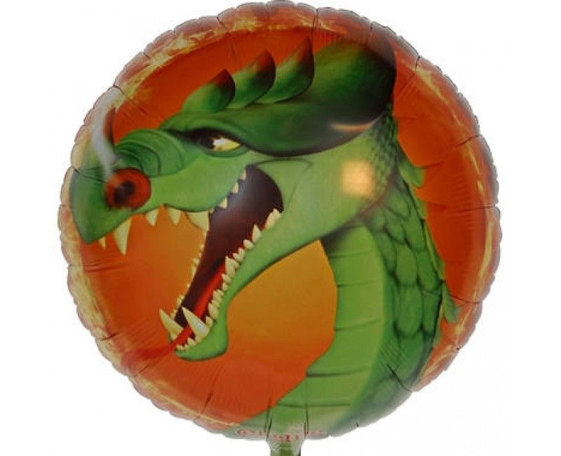 Folieballon 45 cm draak