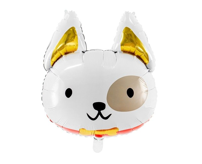 Folieballon hond, 45 x 50cm