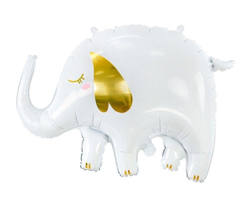 Folieballon olifant, 61 x 46cm