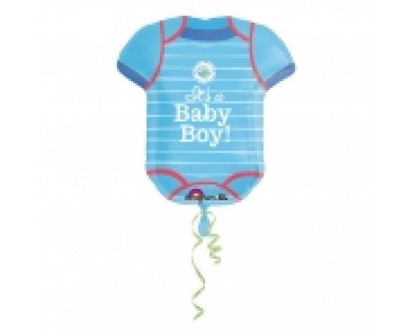 Folieballon romper It's a Baby Boy! 55 x 60cm