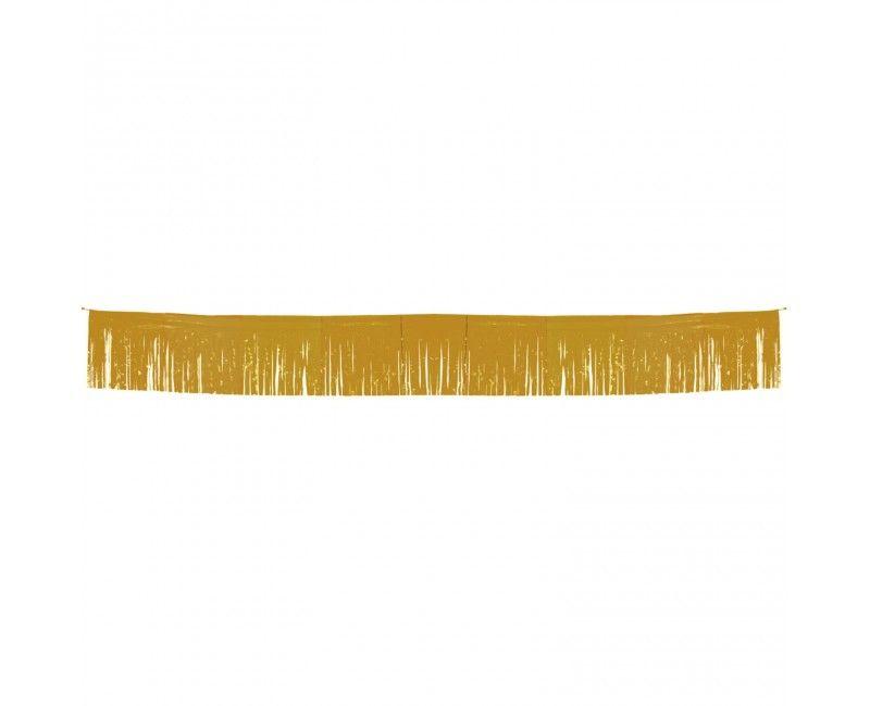 Franje slinger goud metallic 34 x 600cm