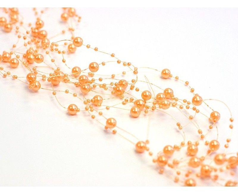 Beaded garland orange