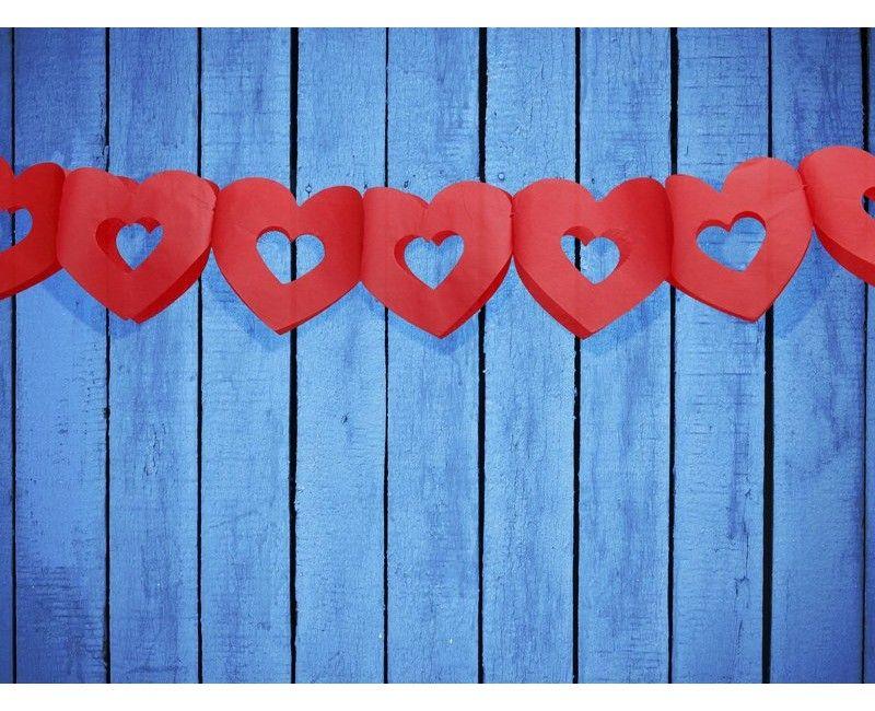 Slinger hart rood