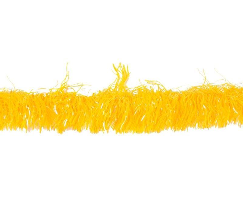 Guirlande foil geel