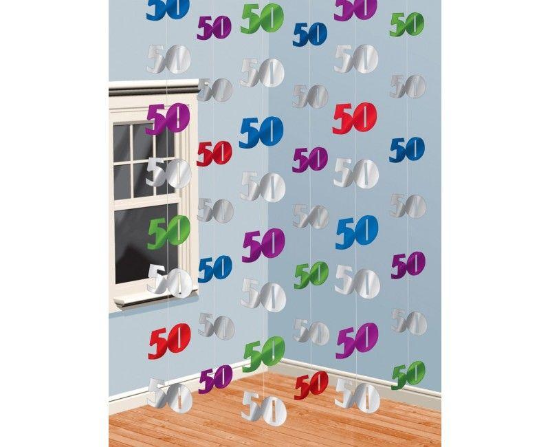 Hangdecoratie leeftijden 50