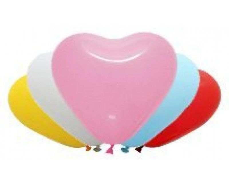 Hartballon 30 cm doorsnee