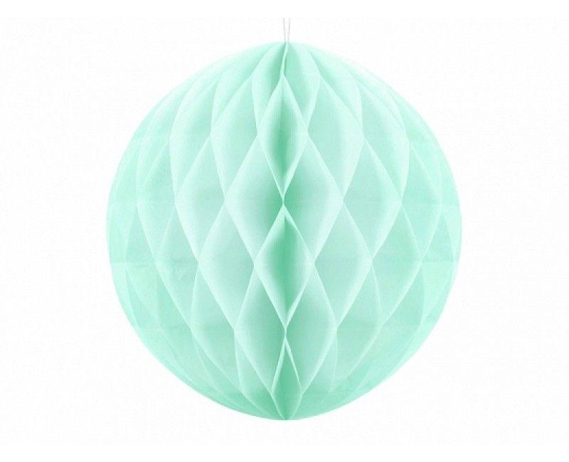 Honeycomb bol licht mint