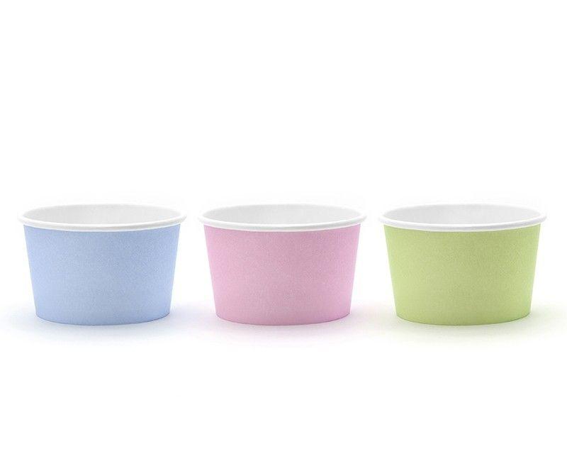IJsbakjes pastel mix, 6 stuks