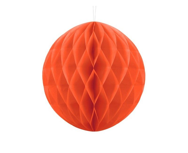 Honeycomb bol oranje