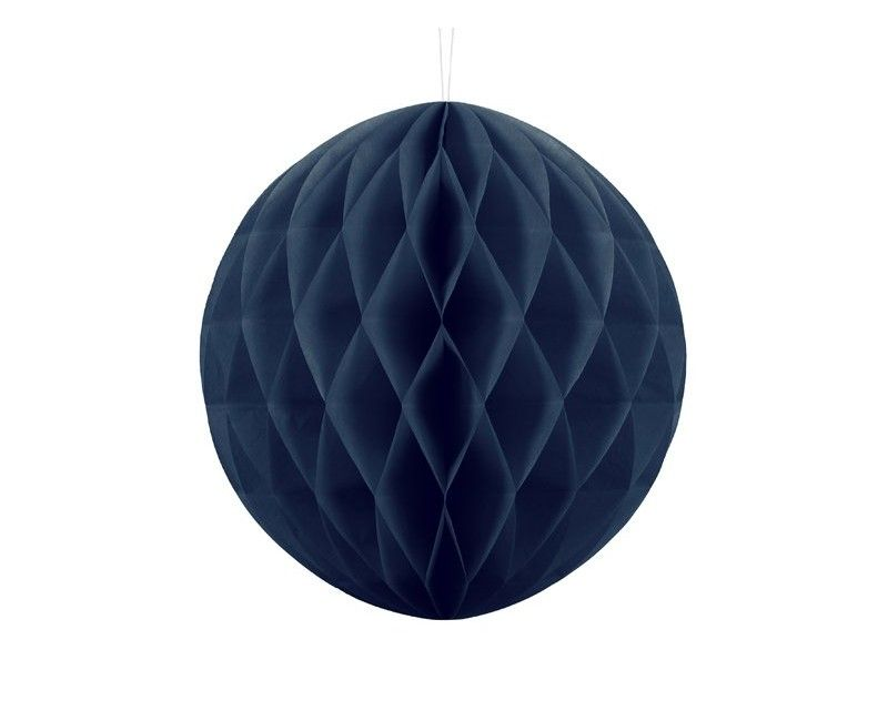 Honeycomb bol navy blue