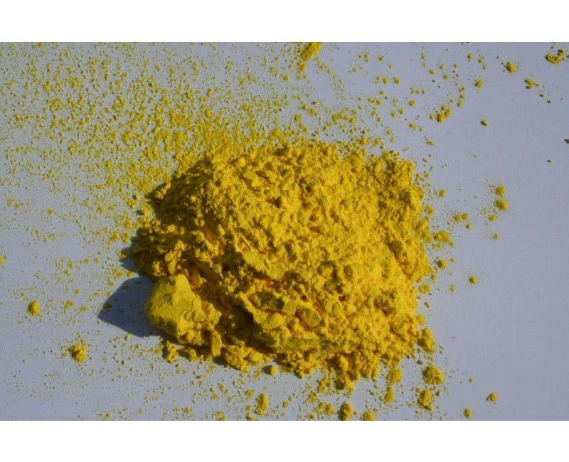Kleurpoeder geel