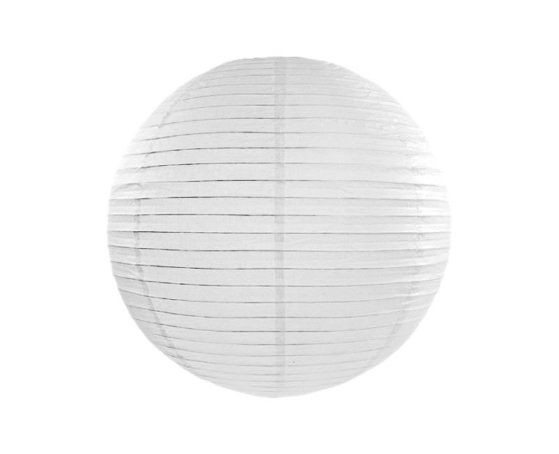 Lampion wit 25/35/45 cm