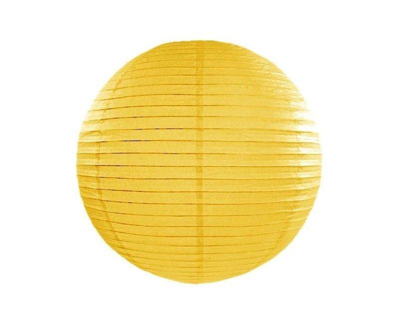 Lampion geel