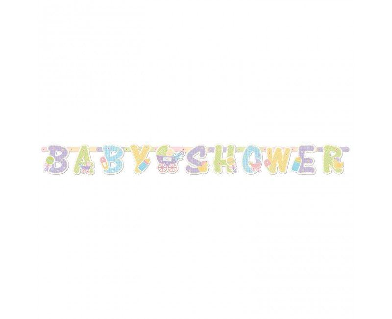 Letter slinger babyshower