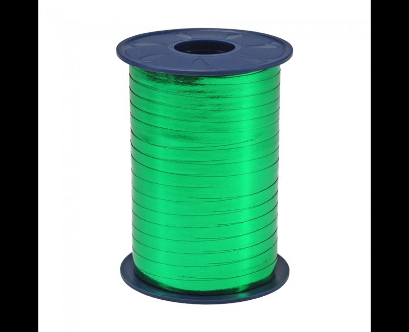 Rol lint 5mm groen metallic, 250 meter