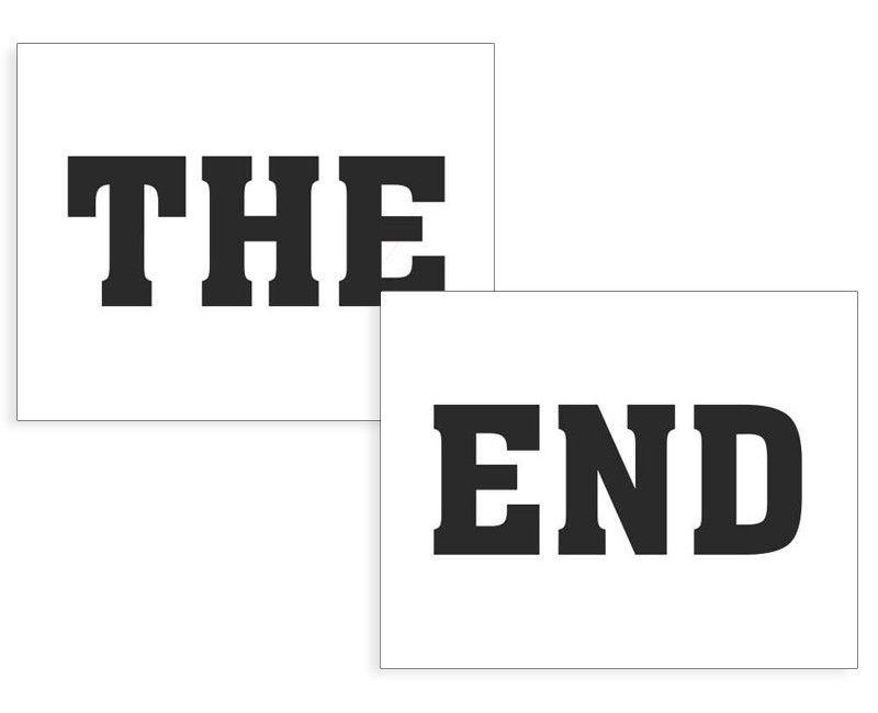 Schoenstickers The End
