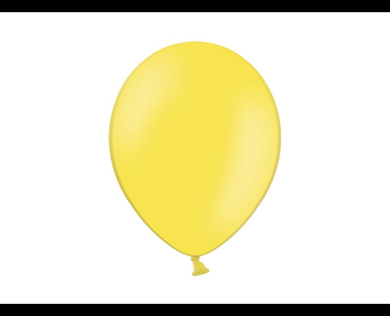 Party ballon geel, 50 stuks