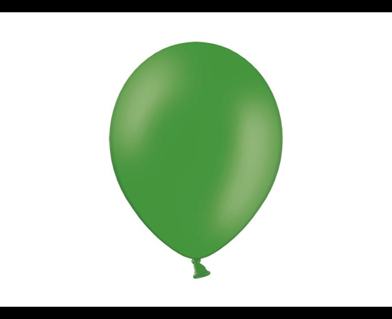 Party ballon 27cm groen, 50 stuks