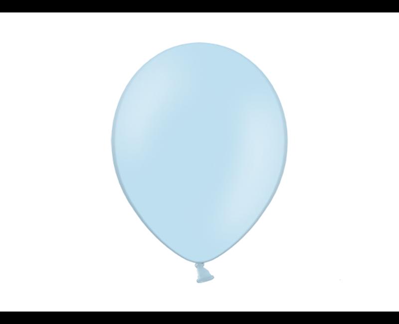 Party ballon lichtblauw, 10 stuks