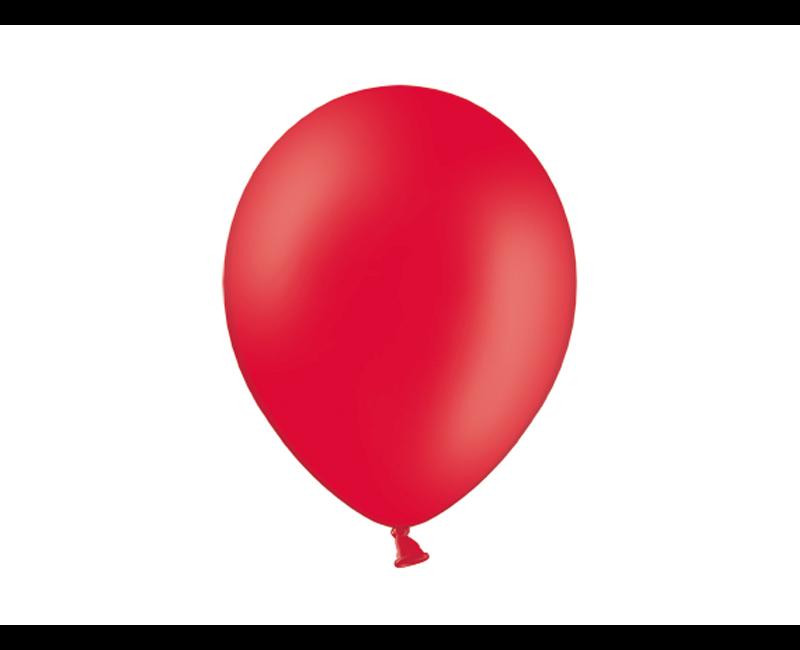 Party ballon rood, 50 stuks