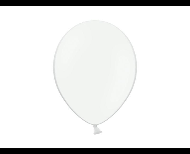 Party ballon wit, 50 stuks