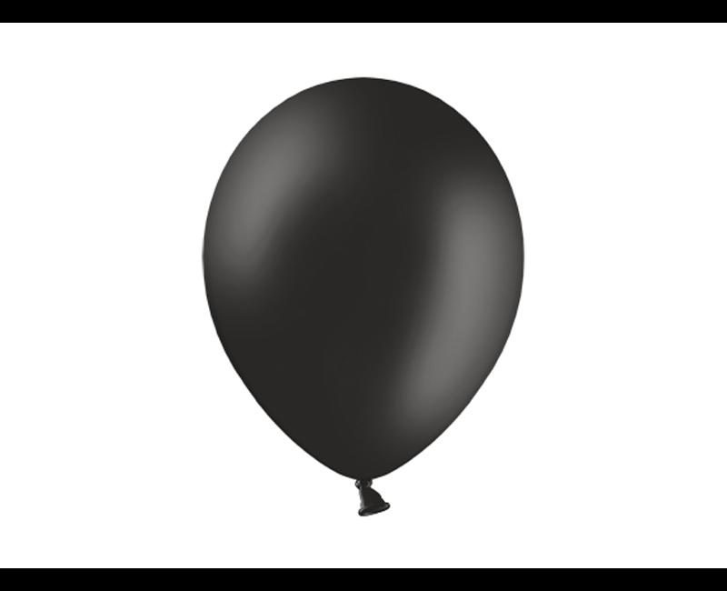 Party ballon zwart, 50 stuks