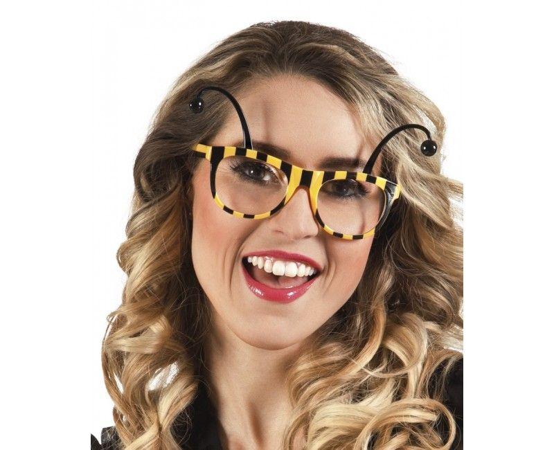 Partybril Honingbij, per stuk