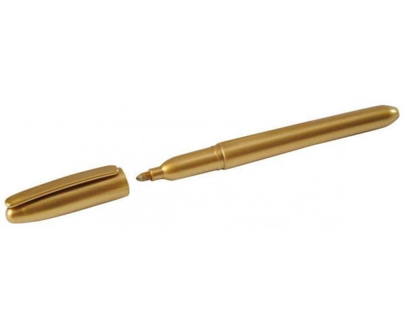 Stift goud metallic, per stuk