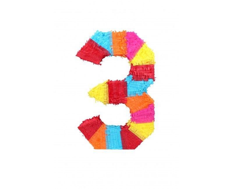 Pinata cijfer 3