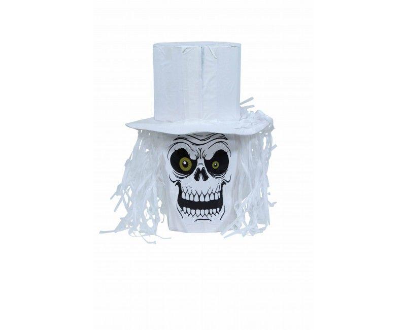 Pinata doodshoofd met hoed
