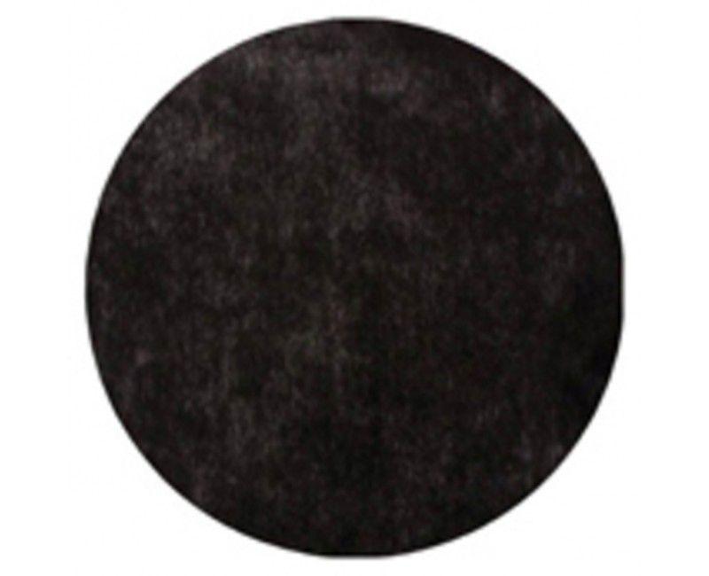 Placemat 36cm zwart, 10 stuks