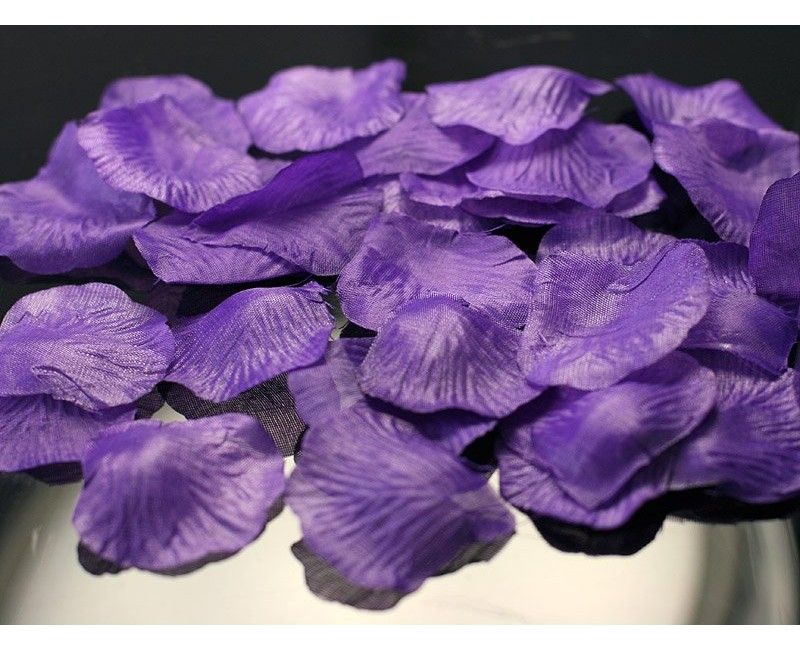Rozenblaadjes violet, 200 stuks