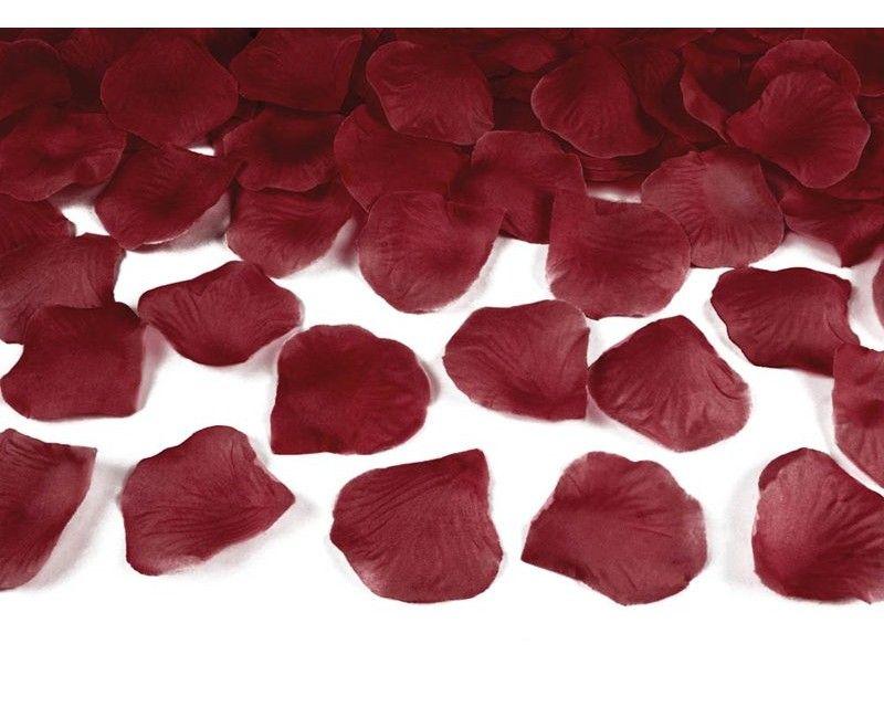 Rozenblaadjes diep rood, 100 stuks