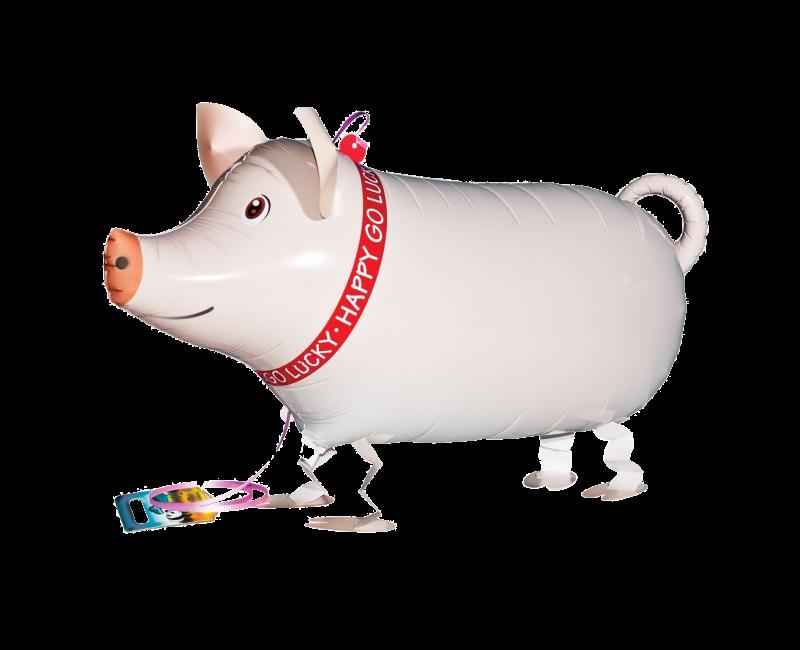 Walking Balloon Piggie