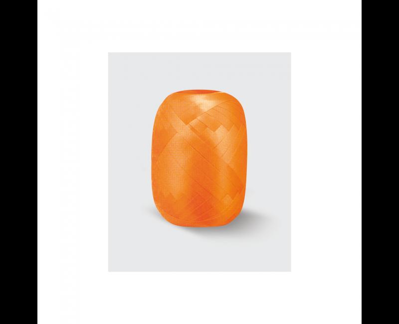 Rolletje lint 5mm oranje, 20 meter