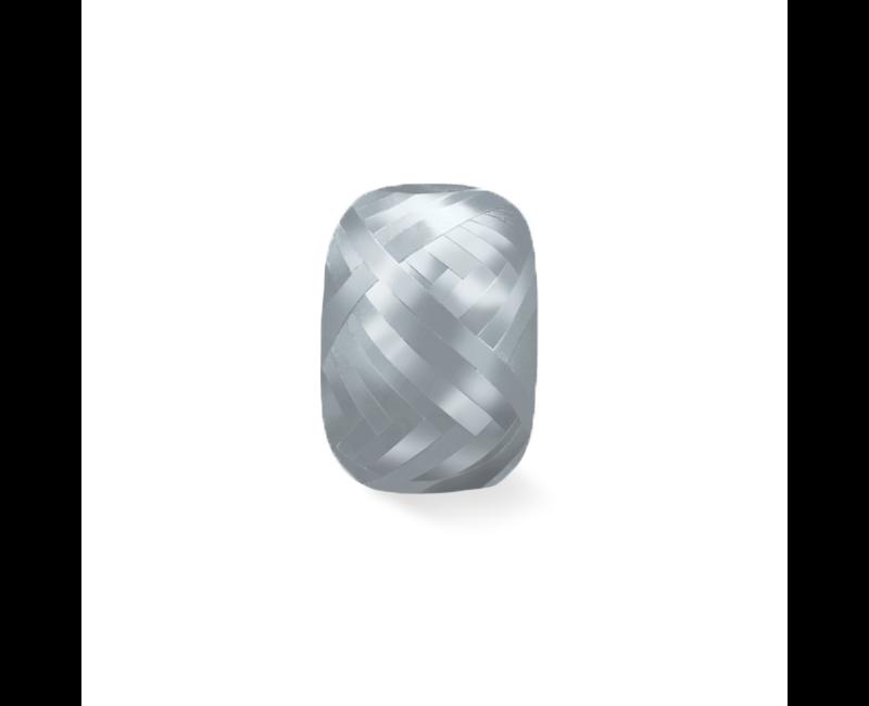 Rolletje lint 5mm zilver, 20 meter